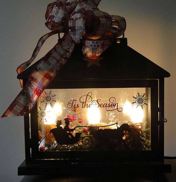 Best 25 Silhouette Cameo Christmas Ideas Only On