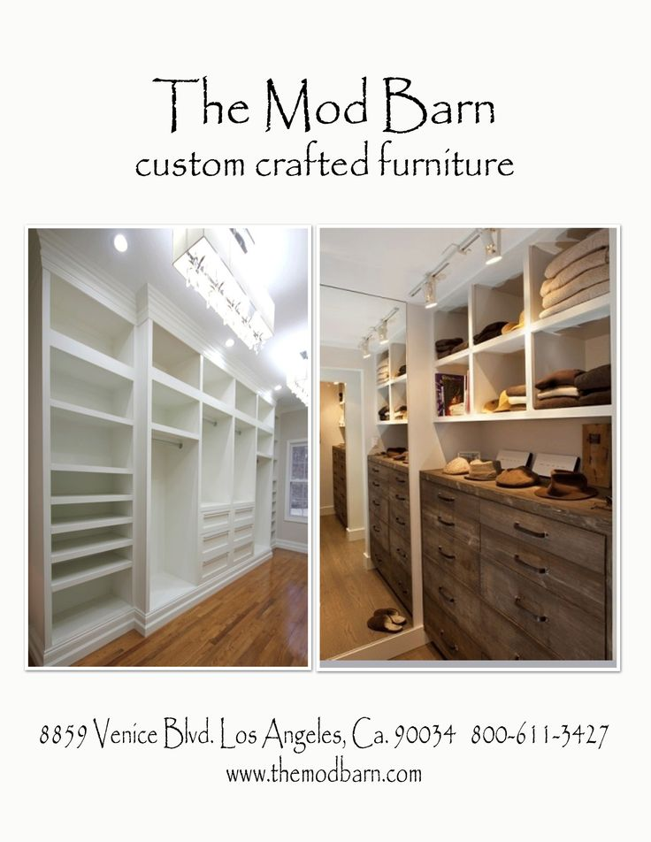 45 best the mod barn custom furniture images on pinterest for Custom closet doors los angeles