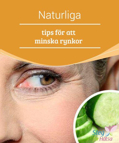 Naturliga tips för att minska rynkor  Visste du att #gurka inte bara förbättrar #utseendet på trötta ögon, utan också är en #idealisk behandling för att #minska rynkor, kråksparkar och mörka ringar?