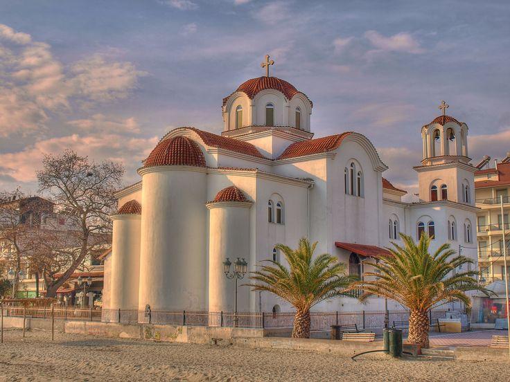 Greek Church in Paralia Katerini
