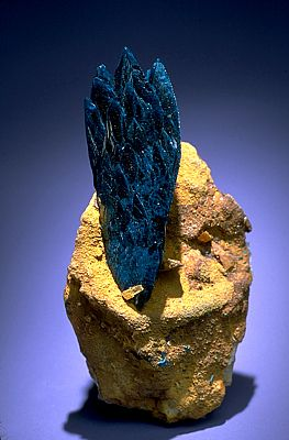 Veszelyite. One of the minerals called phosphates. All phosphates have the phosphate group, PO4, in their chemical composition. Many phosphates form from the chemical alteration of other minerals in the presence of oxygen. Group: Phosphates. Image Number: 97-35129. Catalog Number: 148368. M. Stuart