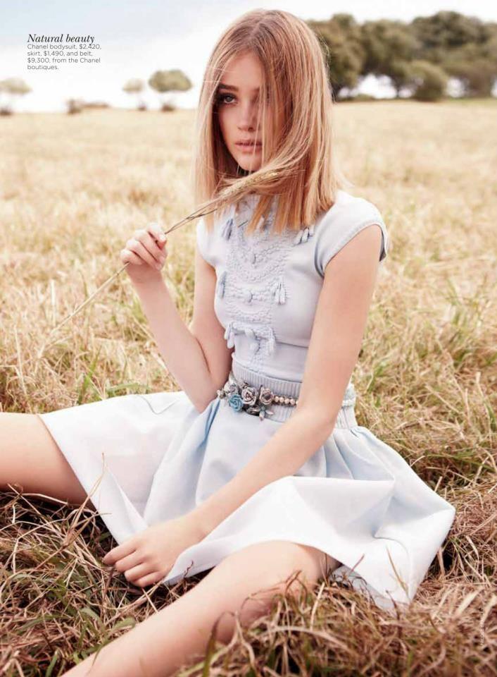 Model: Rosie Tupper | Photographer: Nicole Bentley - for Vogue Australia December 2012