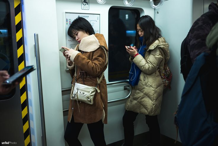 Two Girls In The Metro by Teddy Ye - Photo 132784495 - 500px