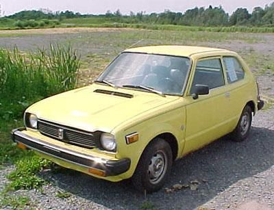 1978 honda civic my first honda and yes it was yellow for 1978 honda civic