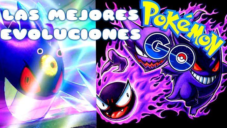 LAS epicas EVOLUCIONES de POKEMON GO parte 2. Pokemon GO ¦ solo un entre...