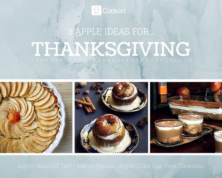3 Apple Ideas For Thanksgiving