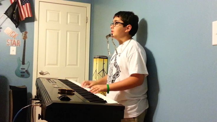 Piano Man Jared....this is my little brother who is awesome. He justed started playing the harmonica the day this was recorded.