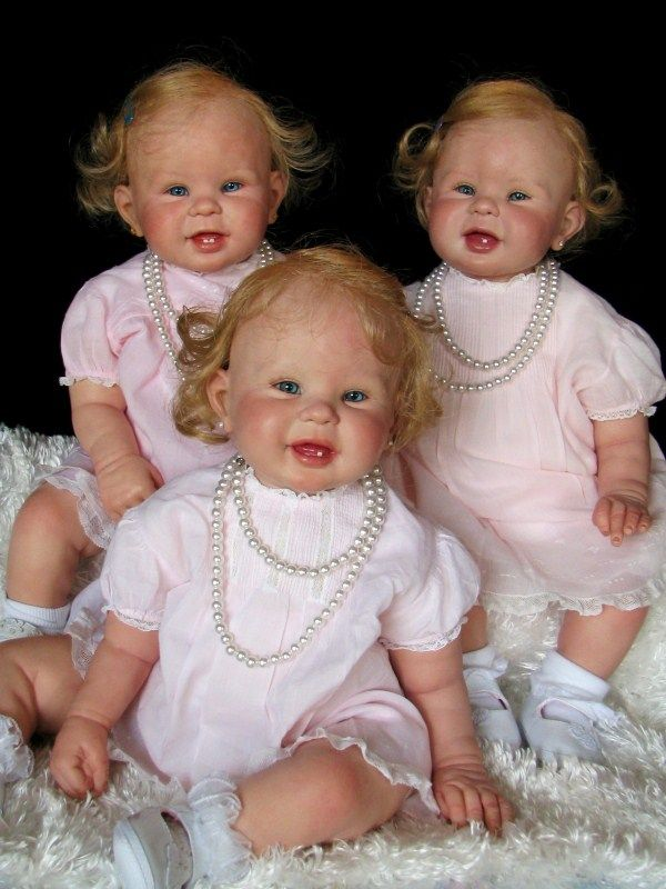 Sweet triplet dolls