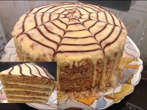 "(5) ""Tort Esterhazy cu blat de nuca si crema de vanilie"" - YouTube"