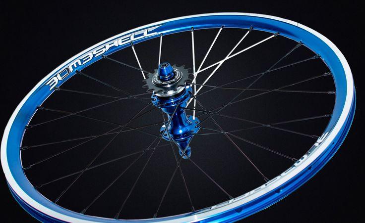 bombshell Jet bmx wheelset