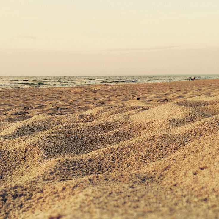 Beach after rain. Poland/ Pobierowo