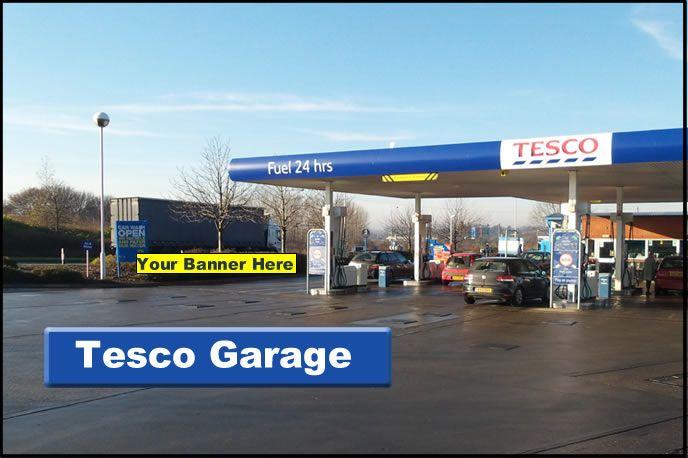 Advertise at Tesco Stowmarket Garage