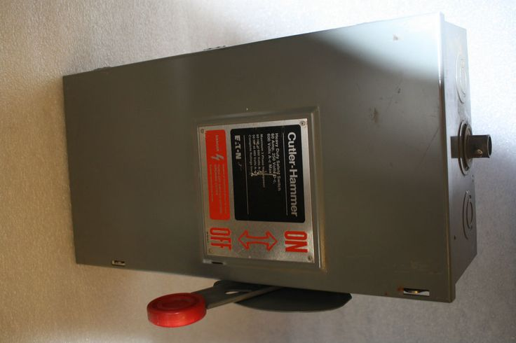 generator disconnect wiring diagrams cutler hammer dh363ngk disconnect 100 amp 600v safety ... #12