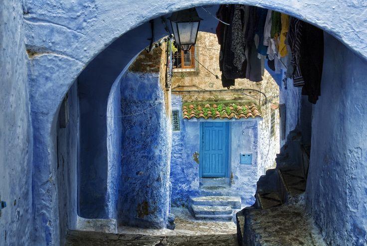 Azul | Chaouen. Marruecos
