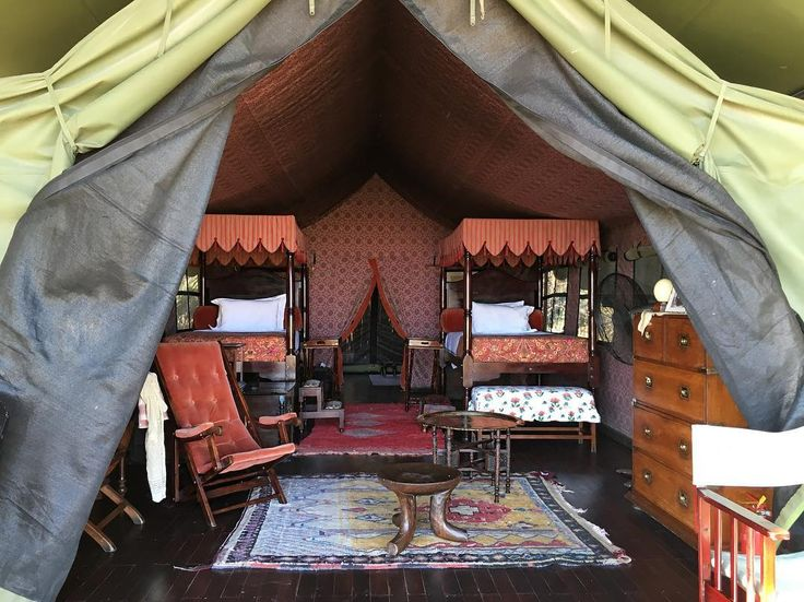 To have a tent that is perfect is to have a room like a hotel,  yet it is in the middle of no where and the perfect offering of light. Now, we have perfect beauty ❤️ #interiordesign