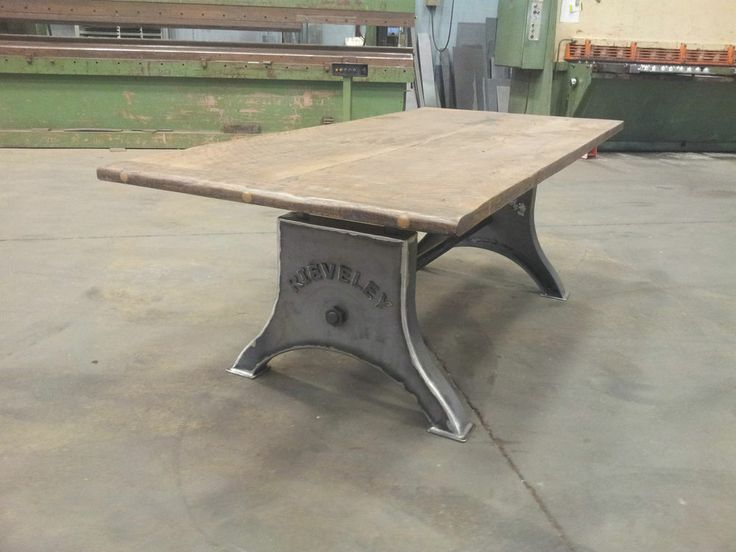 Superb CUSTOM INDUSTRIAL TABLE LEGS / MACHINE BASE | Industrial/Home Ideas |  Pinterest | Industrial Table Legs, Industrial Table And Industrial