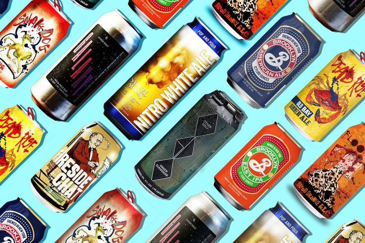 #BeerCanAppreciationDay - Some cool examples of different cans you can find on the shelves