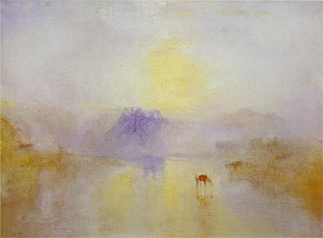 ノラム城、日の出 - ターナー