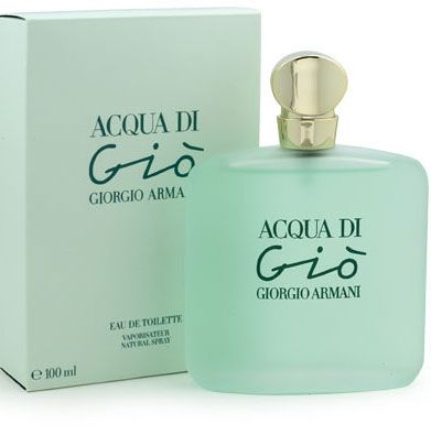 Only got a few puffs left, so on my wishlist: Acqua di Gio Giorgio Armani perfume - a fragrance for women 1995