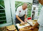 Some of the fantastic chef skills being showcased in Kent at an event organised by The Chefs' Forum at Potash Farm!
