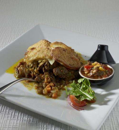Moroccan Lamb Tagine Hotpot.