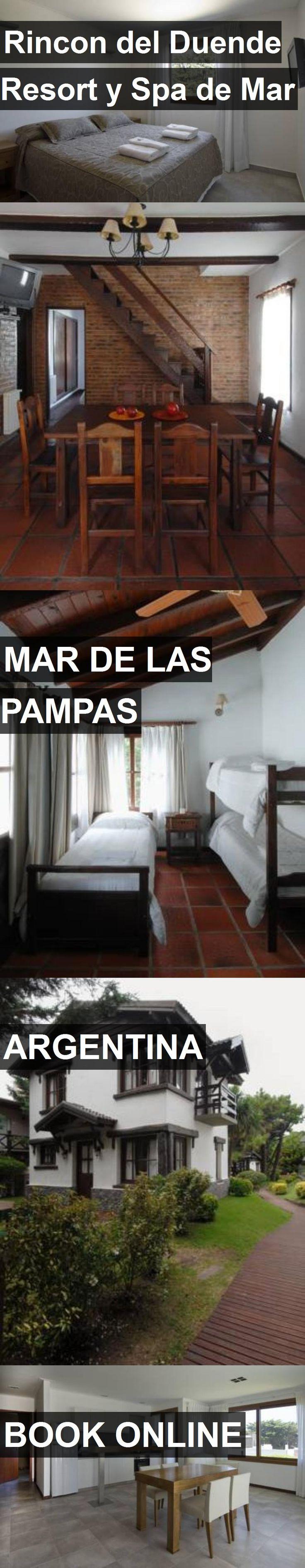 Hotel Rincon del Duende Resort y Spa de Mar in Mar de las Pampas, Argentina. For more information, photos, reviews and best prices please follow the link. #Argentina #MardelasPampas #travel #vacation #hotel