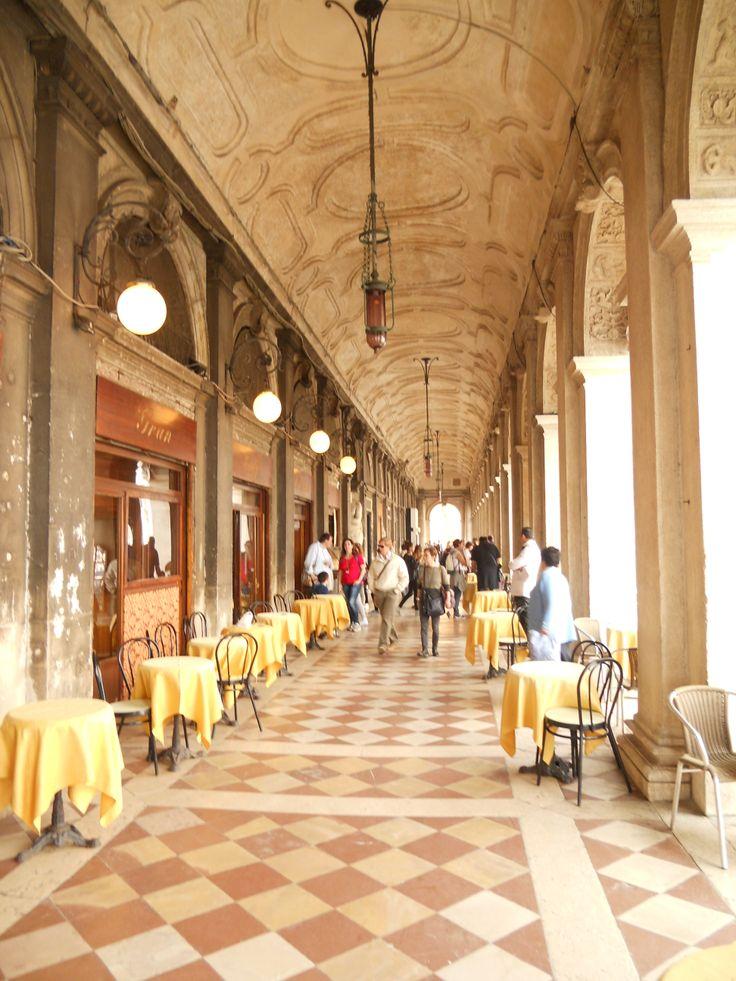 Arcade in S.Marco Square - Venice