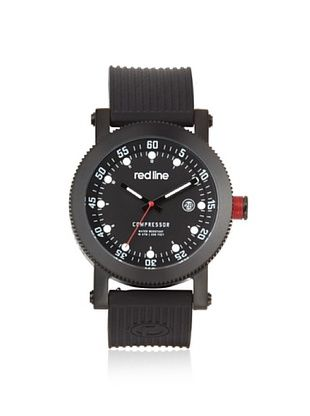85% OFF red line Men's 18000-01-BBSSET Compressor Interchangeable Silicone Watch
