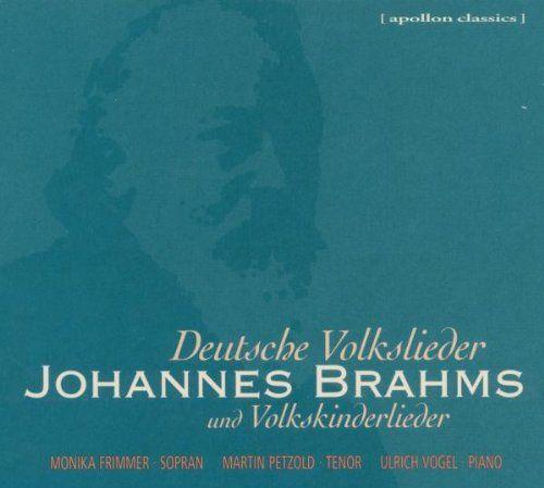 Brahms / Frimmer / Petzold / Vogel - Deutsche Volkslieder