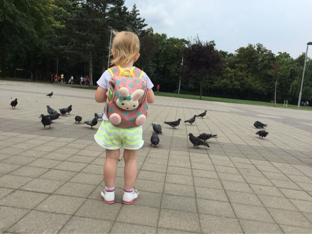 Tienda Online Bebé de la correa niño seguridad encargado del bebé arnés de seguridad mochila caminando niños Walking Wings Anti perdido Goldbug   Aliexpress móvil