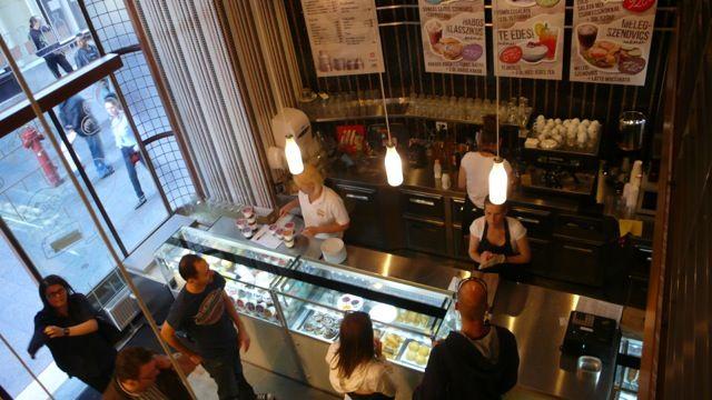 Dairy bistro in retro style - Budapest