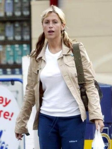 Nicole Appleton without make-up