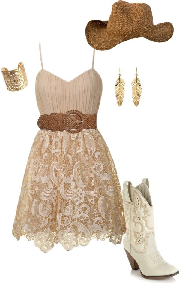 """""""Country Gal"""" by joyesluus on Polyvore"""