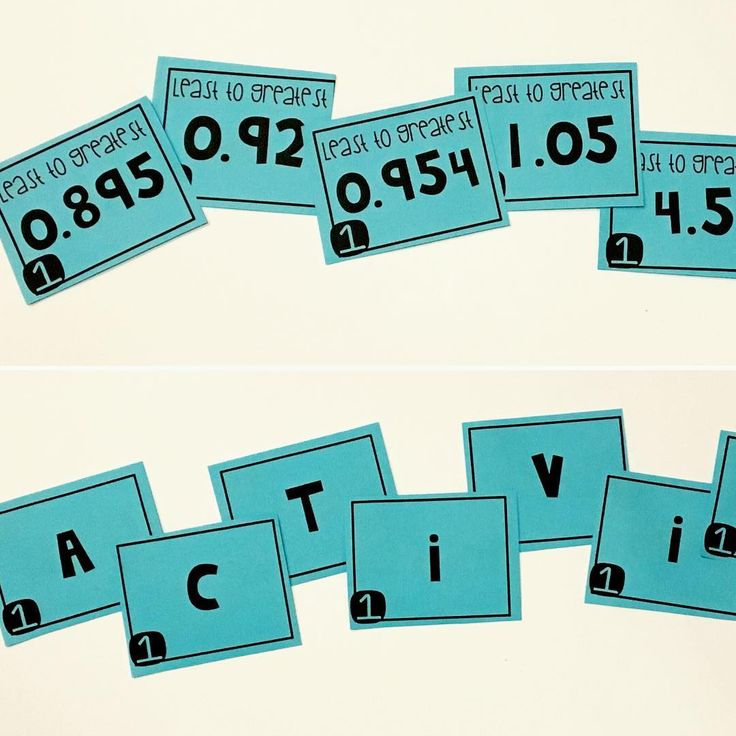 17 best ideas about Ordering Decimals on Pinterest ...