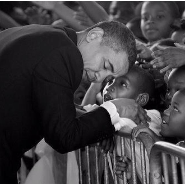 President Obama  *no words necessary*