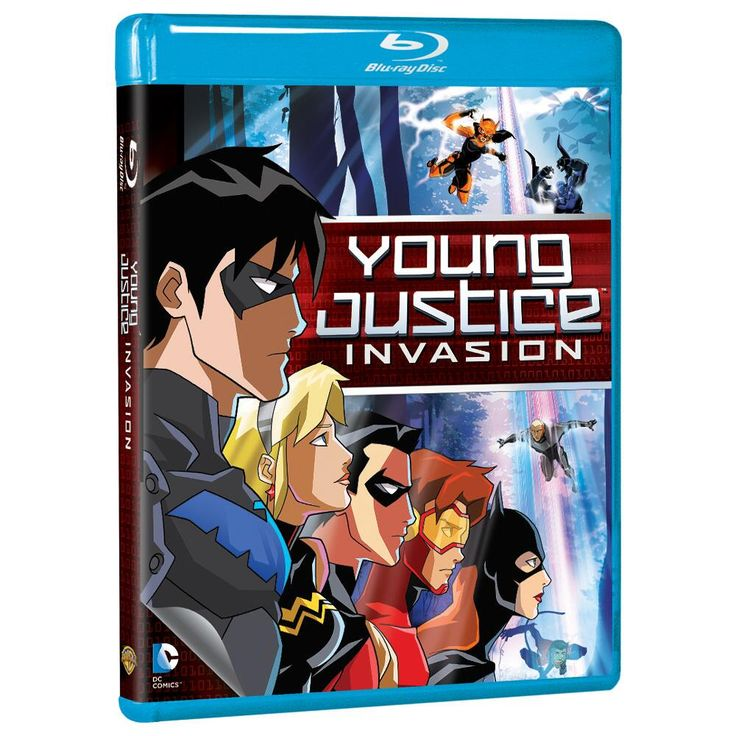 Young Justice: Invasion (Blu-ray) from Warner Bros.: A lot can change in five years, as our super heroes are… #Movies #Films #DVD Video