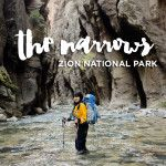 Photo Guide of the Zion Narrows Hike Day 2