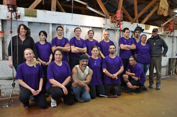 The shearing gang Fit, fast and focused on delivering the best quality merino fibre to the market. Looking good in their Armadillo Merino® shirts