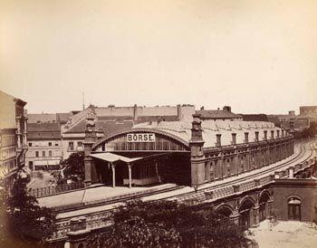 1892 Berlin - Bahnhof Börse (heute Hackescher Markt)