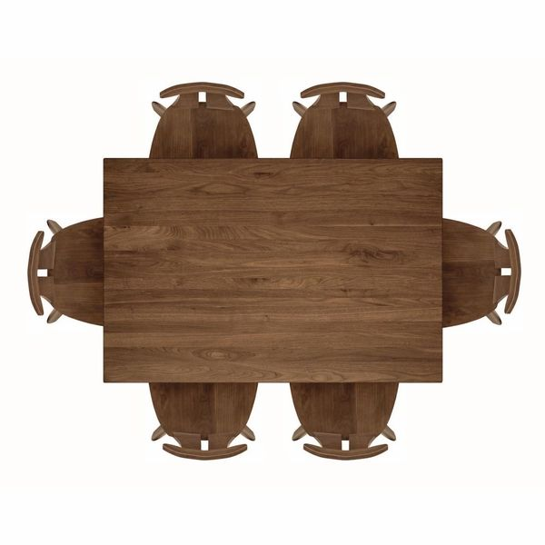 Copeland Furniture - Audrey Dining Table Top View