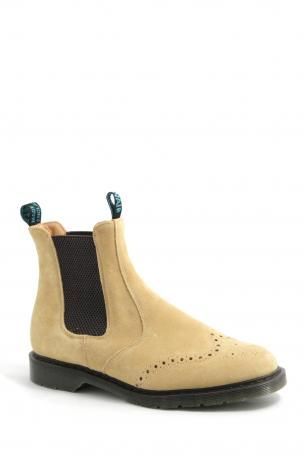 Solovair-ginger suede dealer boot-polacchine ginger suede dealer boot-Solovair