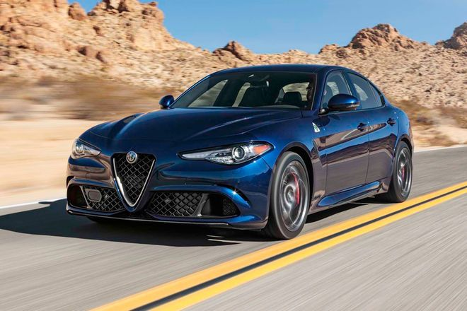 Tested: 2017 Alfa Romeo Giulia Quadrifoglio vs. The Competition - Motor Trend