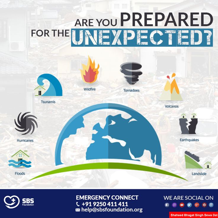 Are you ready to protect yourself from a potential disaster? We are! The focus of #SBSFoundation is to develop, practice and maintain #emergency plans that reflect what must be done to protect people before, during and after a #disaster hits. To get associated with us write to us at help@sbsfoundation.org or drop us a message here. #VerveToServeHumanity #disastermanagement