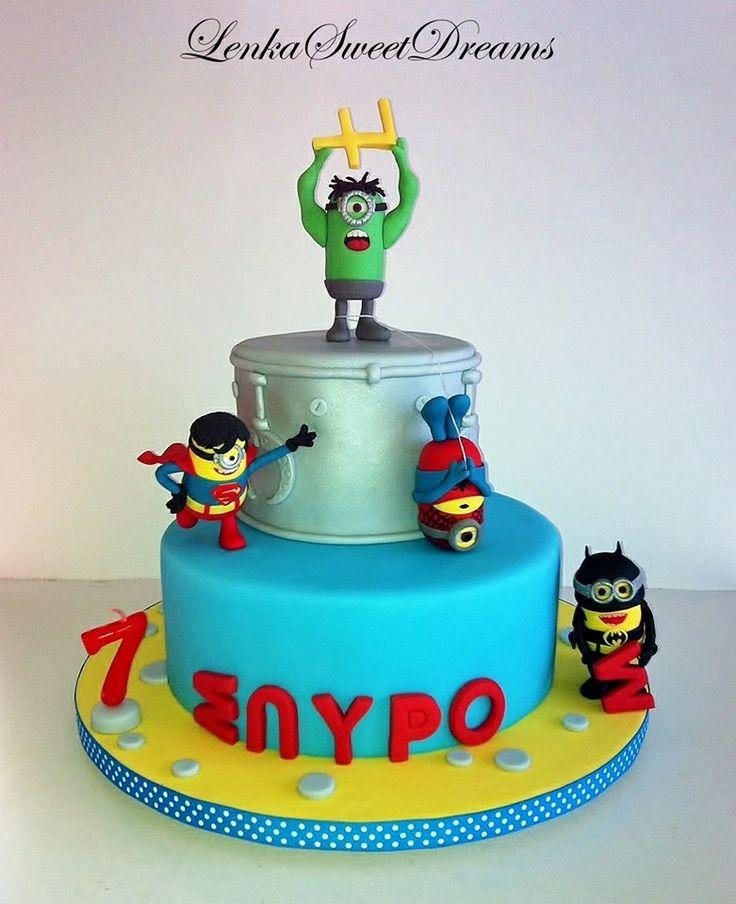 1000+ images about minion-hero on Pinterest | Minion cakes ...