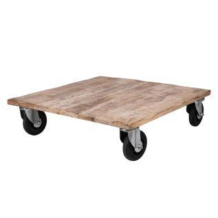 Bord Trä med hjul