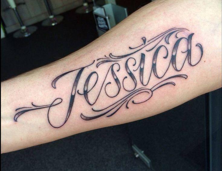 Jessica name tattoo