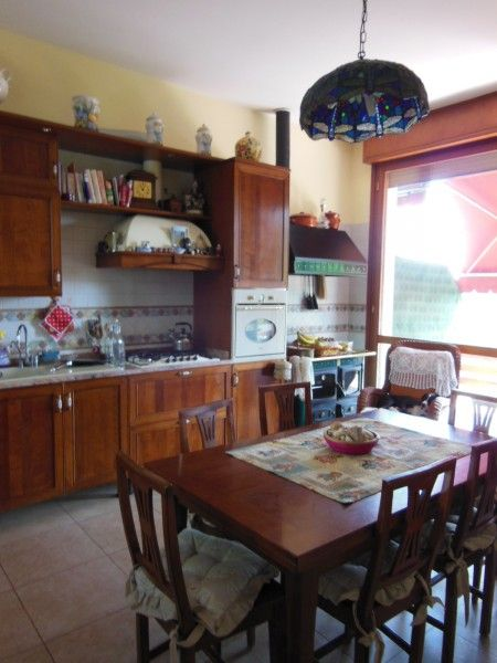 #Characteristic #kitchen with #wooden furniture