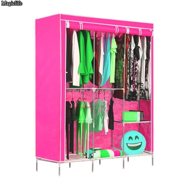 1000 ideas about portable closet on pinterest storage for Diy clothes closet
