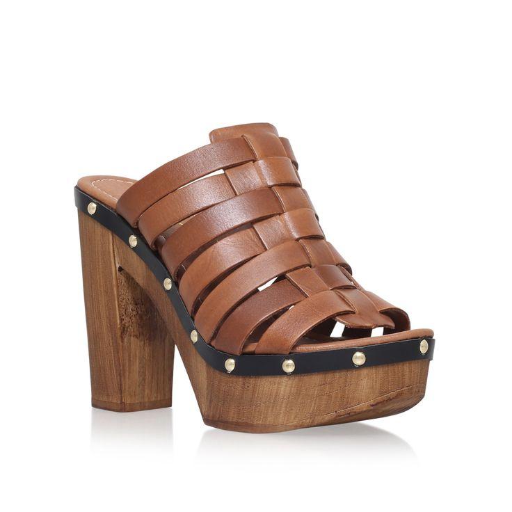 kandy brown mid heel sandals from Carvela Kurt Geiger
