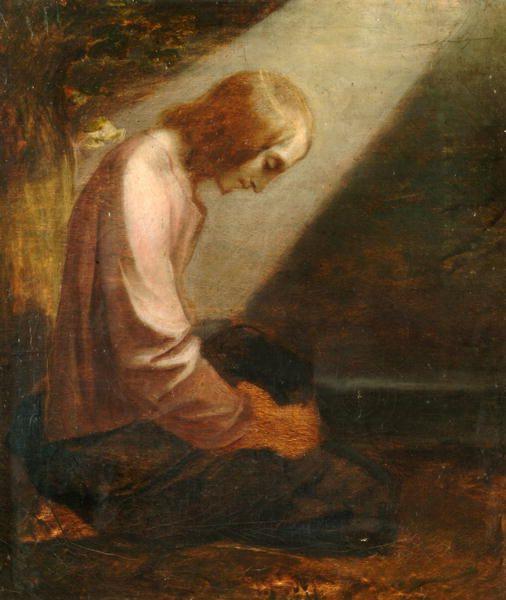 Kneeling Figure by George Frederick Watts, 1836.